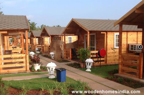 Wooden Homes India, Goa